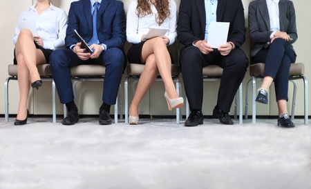 40190956 - people waiting for job interview